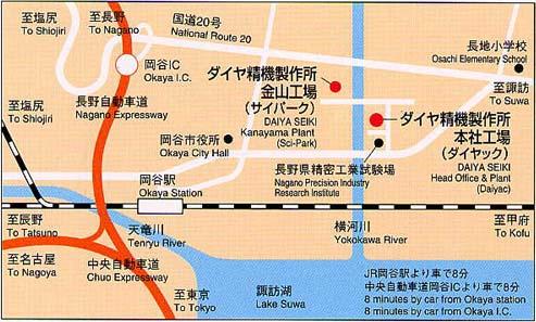 DAIYAC Access Map