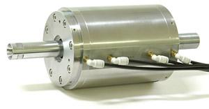 Spindles for pneumatic static-pressure bearings (air bearings)